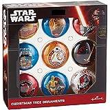 Hallmark Star Wars Set of 9 Double-Sided Christmas Tree Ornaments