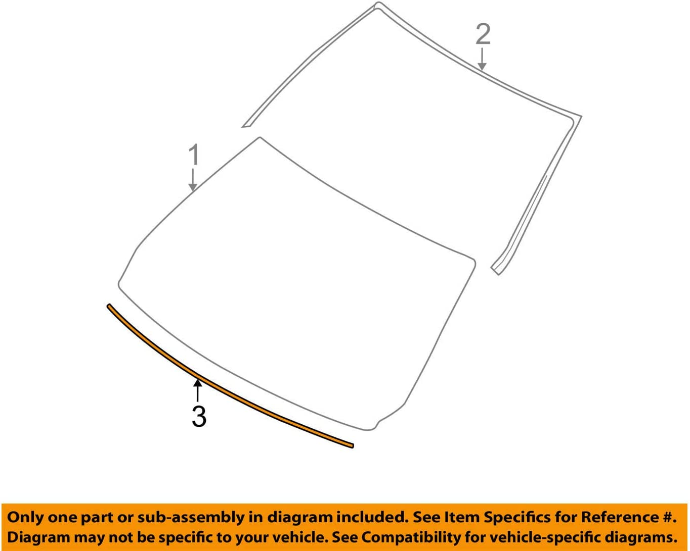 BMW 51-13-7-133-292 Supporting Ledge (:513199), 1 Pack