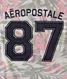 Aeropostale Womens Tropical Aropostale 87 Graphic T Shirt