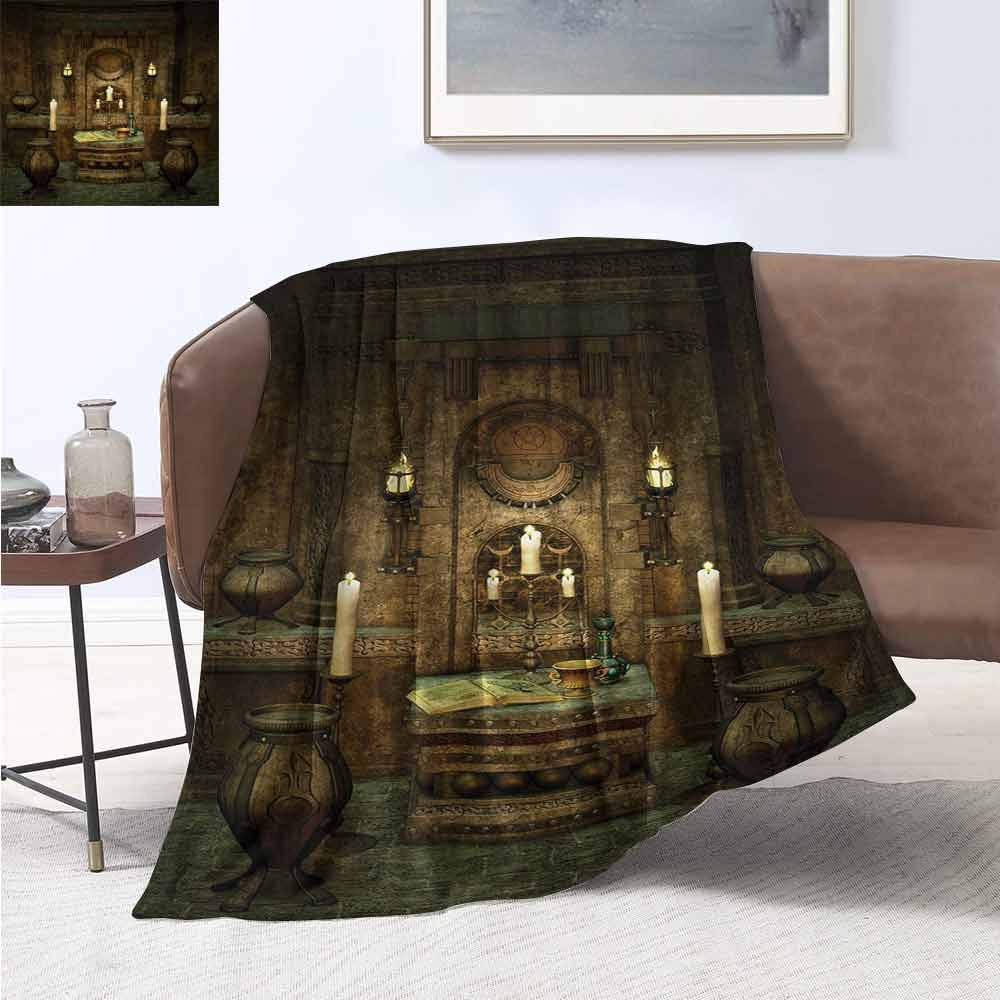Amazon.com: smllmoonDecor Gothic Lightweight Blanket Big ...