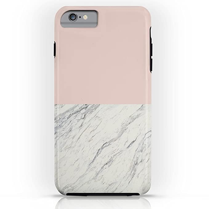 new products c24c2 5bc79 Amazon.com: Society6 Moon Marble Tough Case iPhone 6s Plus: Grace ...