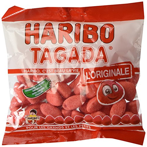 French Tagada Strawberry Haribo Candy