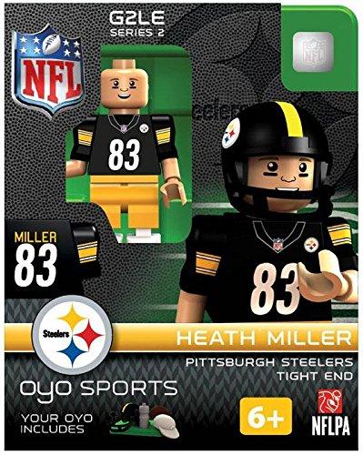 NFL Pittsburgh Steelers Heath Miller OYO G2 Minifigure