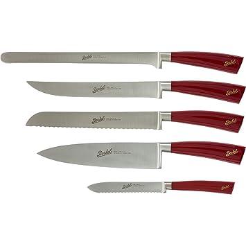 Berkel KEL5CS00SRBGB Elegance - Juego de 5 cuchillos (acero ...