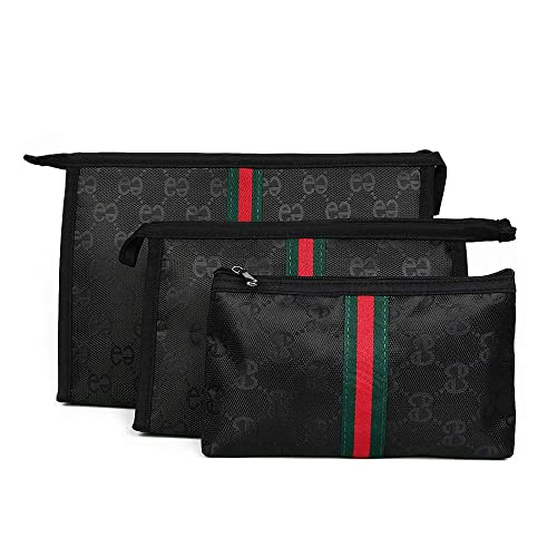 6505b42ce3b8 Amazon.com  Beatfull Cosmetic Bag Set of 3 for Purse