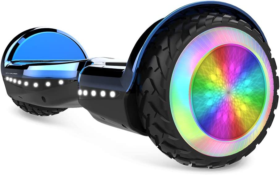 """CITY CRUSER 8.5/"""" Smart Electric Scooter 2-Wheels Bluetooth with Music Gift"""