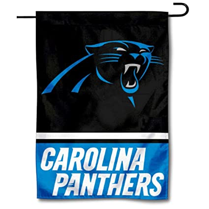 online retailer 10f37 95f7e WinCraft Carolina Panthers Double Sided Garden Flag