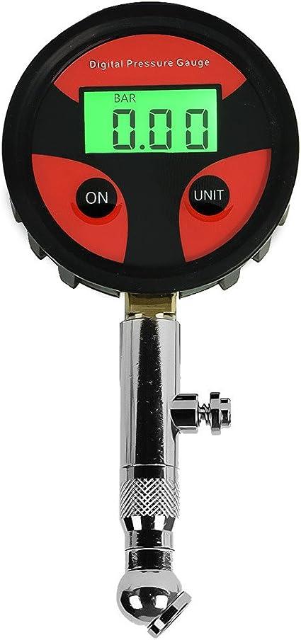 DEDC Manómetro Digital para Neumáticos Calibrador Medidor de ...