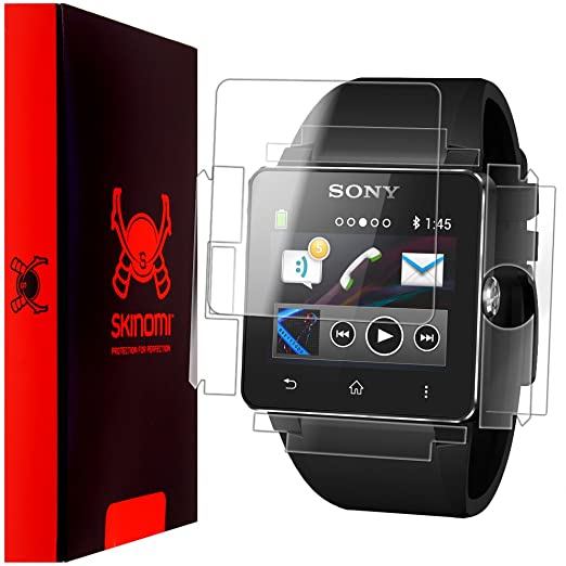 Amazon.com: Sony SmartWatch 2 Screen Protector + Full Body ...
