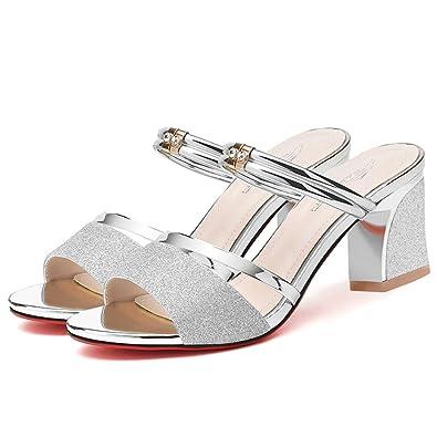 Paire Femmes Hauts Une Chaussures Talons Rome Femme De Été Avec À 3TJuKcl1F