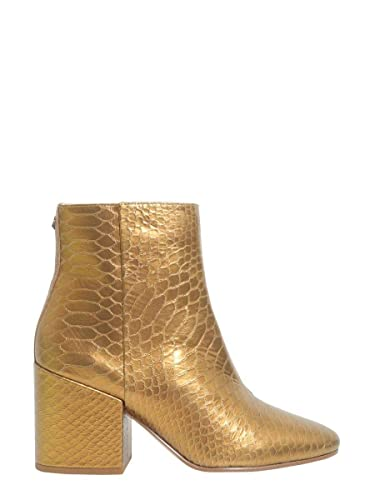 meet buying now shop best sellers Sam Edelman Fashion Womens E5004LB901ORO Gold Ankle Boots ...