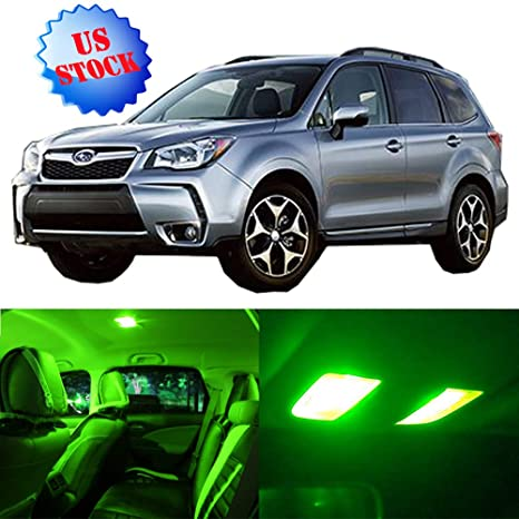 2017 Subaru Forester Accessories >> Amazon Com Interior Led Lights Green Replacement For 2009