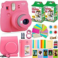 Fujifilm Instax Mini 9 Camera + Fuji Instax Film (40...