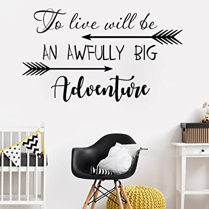 Amazon Dfphh Life Quotes Wall Stickers Inspirational Wall To Adorable Arrow Quotes Life