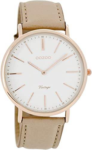 Oozoo Damen Armbanduhr Analog Quarz Leder C7330