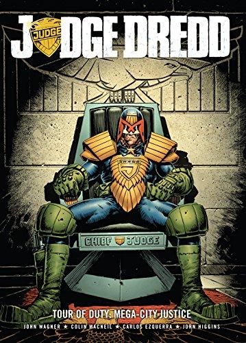 Judge Dredd Tour Of Duty Mega City Justice Judge Dredd Tour