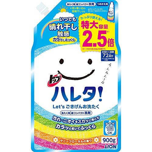 일본세제 톱 하레타 세탁 세제 액체 리필 900g / 리필 1250g