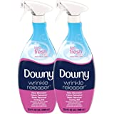 Downy Wrinkle Release Spray Plus, Static Remover, Odor Eliminator, Steamer for Clothes Accessory, Fabric Refresher and…