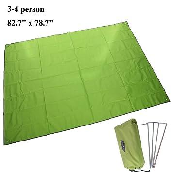 JTENG Outdoor Waterproof C&ing Shelter Tent Tarp Footprint Groundsheet Blanket Beach Picnic Blanket Mat  sc 1 st  Amazon.com & Amazon.com : JTENG Outdoor Waterproof Camping Shelter Tent Tarp ...