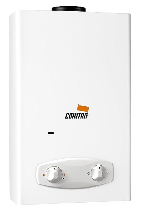 Cointra optima - Calentador optima cob5bx exterior 5l gas butano/gas natural clase de eficiencia