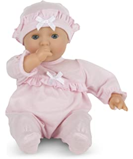 d534c2078 Amazon.com  Meiyie 12 Inch Big Eyes Smile Nurturing First Baby Doll ...