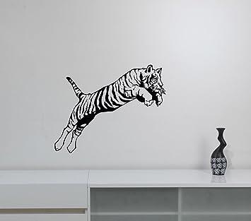 2bbc00a233595 Amazon.com: Tiger Wall Decal Removable Vinyl Sticker Safari African ...