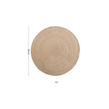 Linen Non Slip Table Mat Kitchen Accessories Home Decoration Pad Placemats