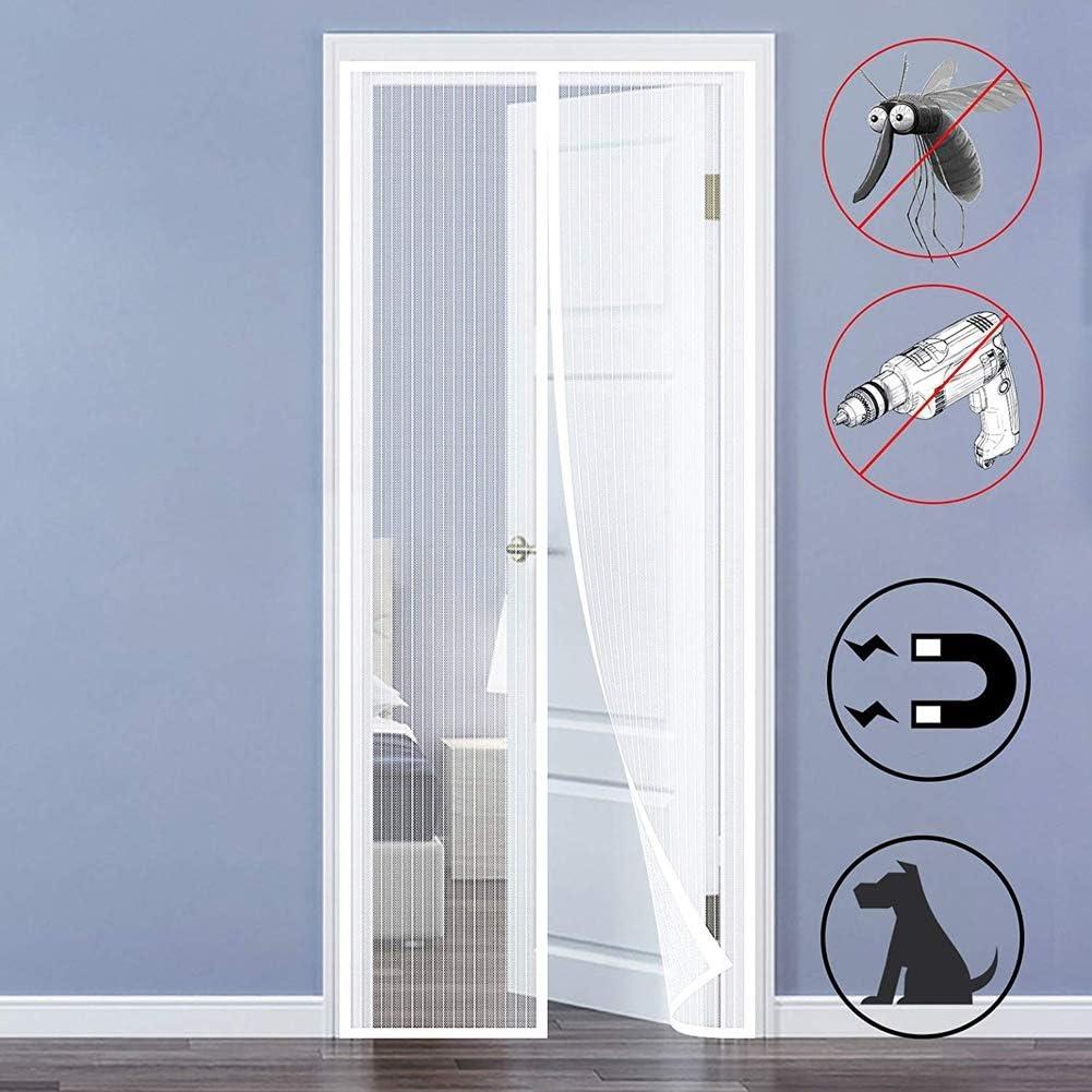 Mosquiteras Puerta Magnetica Corredera mosquitera cortina puerta ...