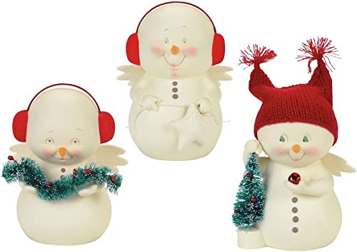 Department 56 Snowpinions Decorating The Tree 3 Porcelain Christmas Figurines Sold Separately, 6