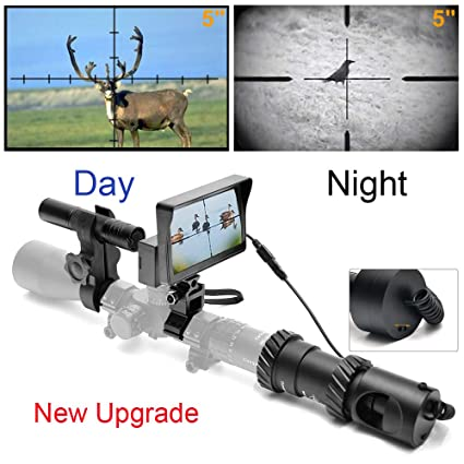 ecf13c6de62 Amazon.com   bestsight DIY Digital Night Vision Scope for Rifle Hunting  with Camera and 5
