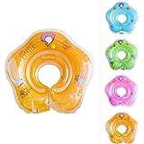 FLOVEME Salvagente Gonfiabile per Bambini Baby Float Piscina Neonati 1-18 Mesi Supporto di Collo
