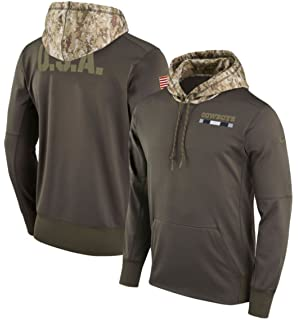 8893ed4f8 Dallas Cowboys Nike Olive Salute to Service Sideline Therma-Fit Pullover  Hoodie