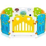 Baby Vivo Parque para niños de Color de Plástico con Puerta