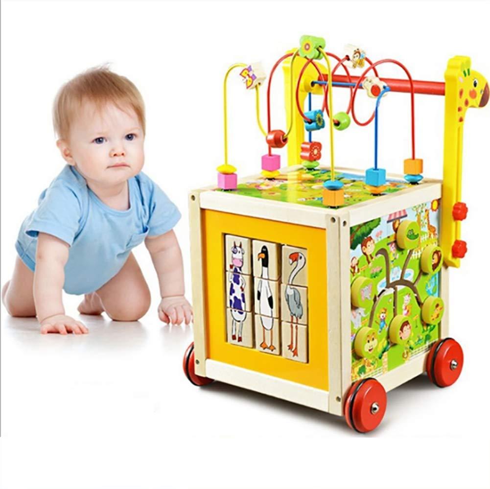GL Baby walker Carrito de bebé de Madera con Ruedas multifunción ...