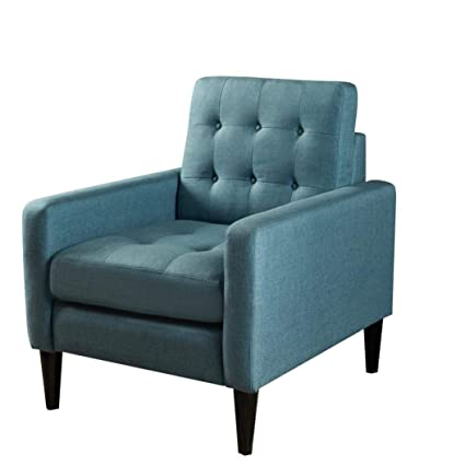 Iusun Modern Sofa Chair, Fashion Furniture Fabric Chairs For Study Room  Home Office, 30.7