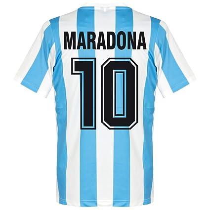 397e0475ca Amazon.com : Le Coq Sportif 1986 Argentina Home Retro Shirt + ...