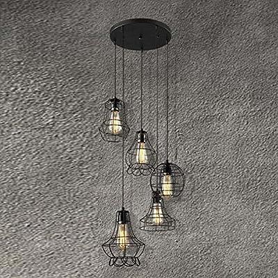 BAYCHEER Cage Multi Light Pendant Lamp