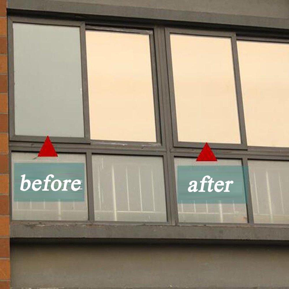 Hoho] Bronze Silber e Way Spiegel Folie Fenster 152 4 x 50 8 cm