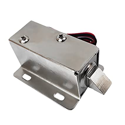 Segolike DC12V Lock Tongue Luggage Electric Solenoid Assembly for Auto Door Sauna Cabinet Drawer