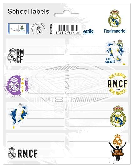 Grupo Erik Editores Etiquetas - Real Madrid