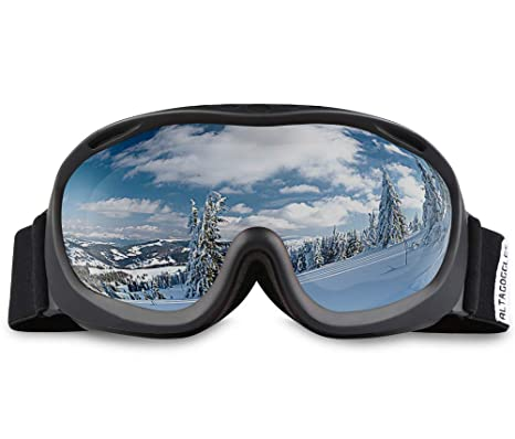 340c7900291 Amazon.com   AKASO Ski Goggles an-ti Fog Double Lens Skate Glasses ...