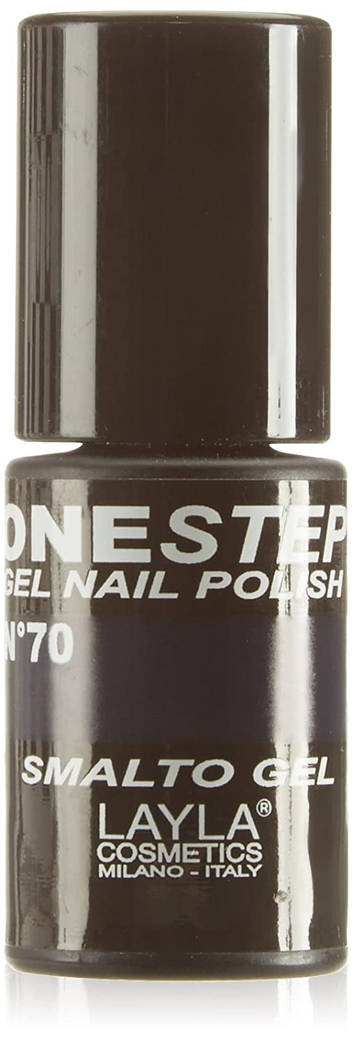 Layla Cosmetics – One Step Gel Smalto, Rain Storm, 1er Pack (1 x 5 ml) 1646R25-070