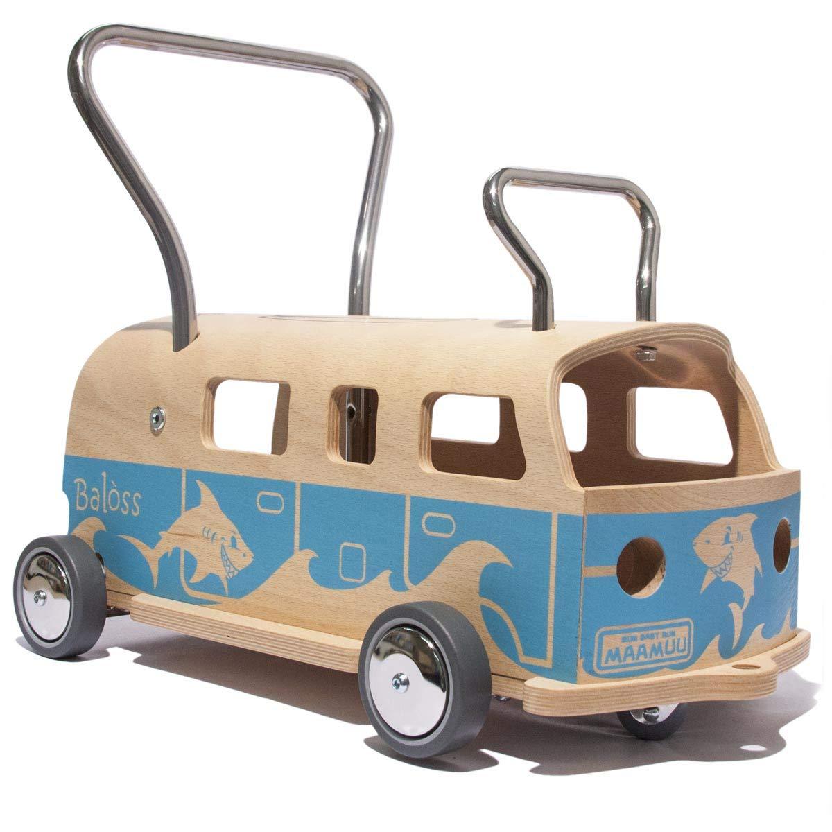 MAAMUU Lauflernwagen Bus - Bulli Lauflernwagen