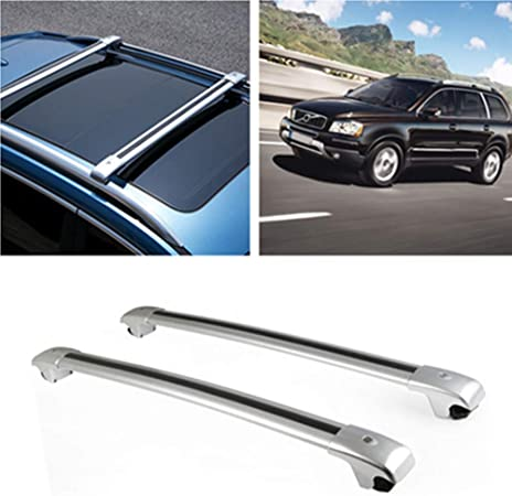 Aluminium Alloy Car Roof Carriers Roof Rack Bar Fit For Volvo XC90 2003-2014