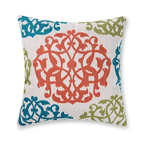 Baibu Unique Art Colorful Pattern Cushion Cover Polyester Throw Pillow Cover 18