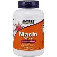 [海外直送品] ナウフーズ  Niacin Tr 250 Tabs 500 mg