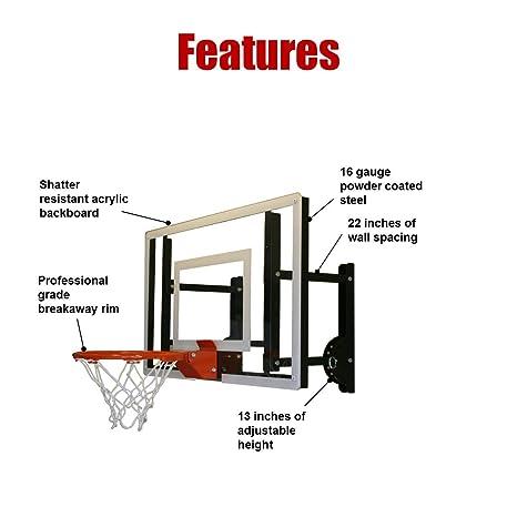 amazon com ramgoal9 mini basketball hoop ball sports outdoors rh amazon com