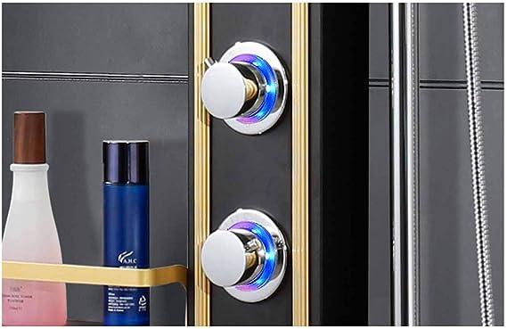 Sistema ducha, conjunto paneles ducha Color mampara ducha Conjunto ...