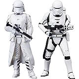 ARTFX+ STAR WARS ファースト・オーダー スノートルーパー&ファースト・オーダー フレームトルーパー 2パック フォースの覚醒版 1/10スケール PVC製 塗装済み簡易組立フィギュア