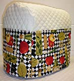 Quilted Italian Kitchen Cover for Kitchenaid Tilt Head Stand Mixer (Cream)